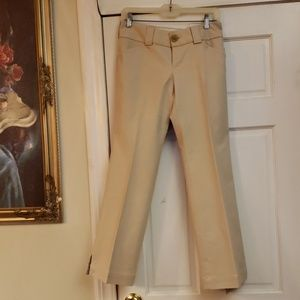 Banana Republic Stretch Tan Pants Size 4P